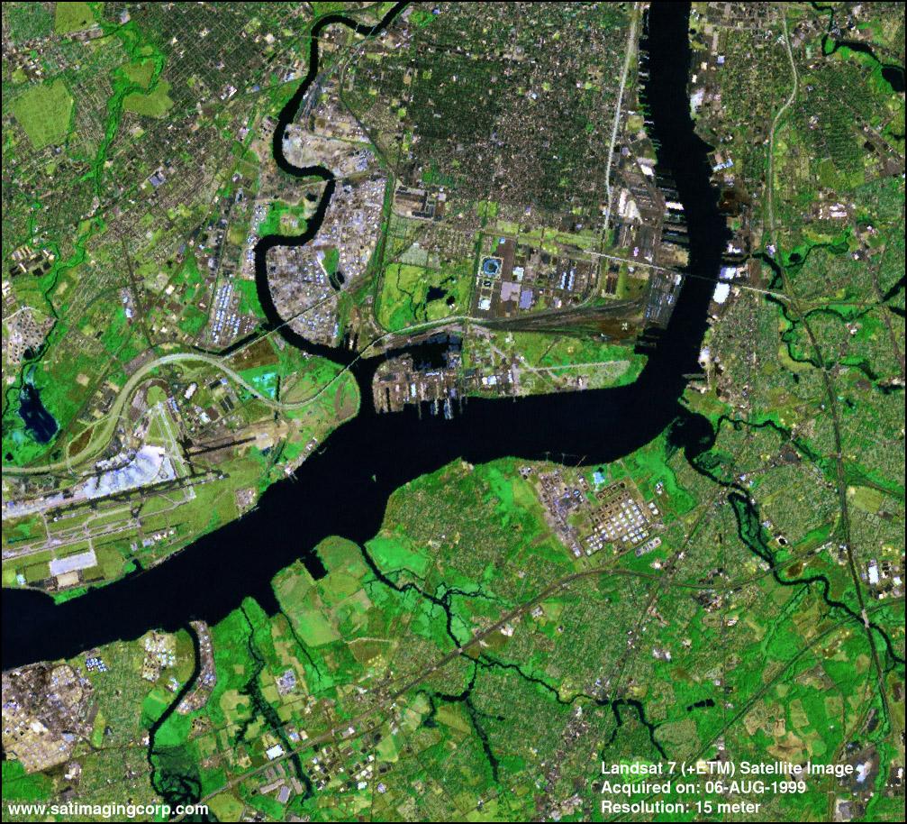 تصاویر ماهواره لندست
