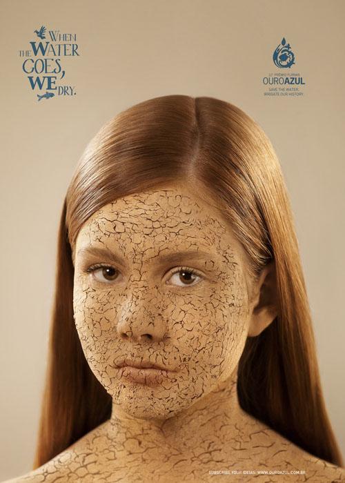 پوستر خشکسالی و انسان