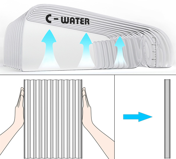 C-Water دستگاه خورشیدی تقطیر آب